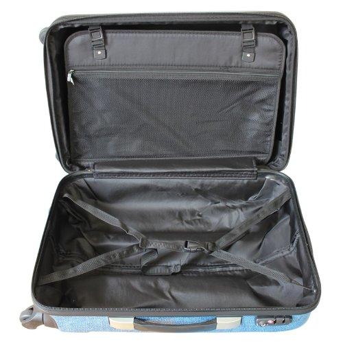 TSAファスナー4輪キャリー スーツケ-スR6222 Fサイズ ルビーレッド