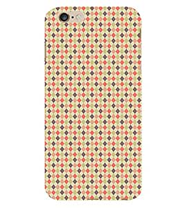 Fiobs Clourfull Parttern Design Phone Back Case Cover for Apple iPhone 6