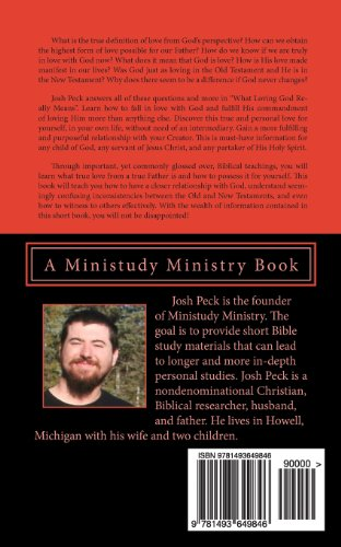 What Loving God Really Means: A Ministudy Ministry Book: Volume 4 (Ministudy Books)