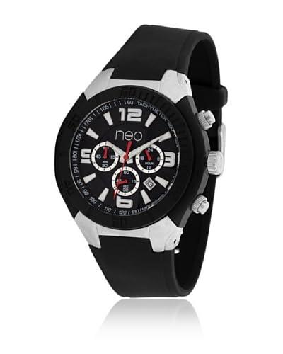 Neo Reloj con movimiento japonés 15634017 Negro 45 mm
