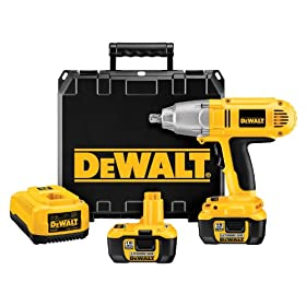DEWALT DCF059Kl  1/2-Inch 18-Volt Cordless Lithium-Ion Impact Wrench Kit