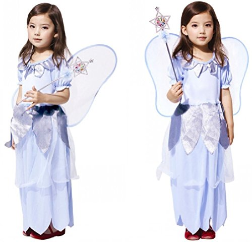 Purplebox Cosplay Halloween Costume Disney Princess Dress Flower Girl Dress Children