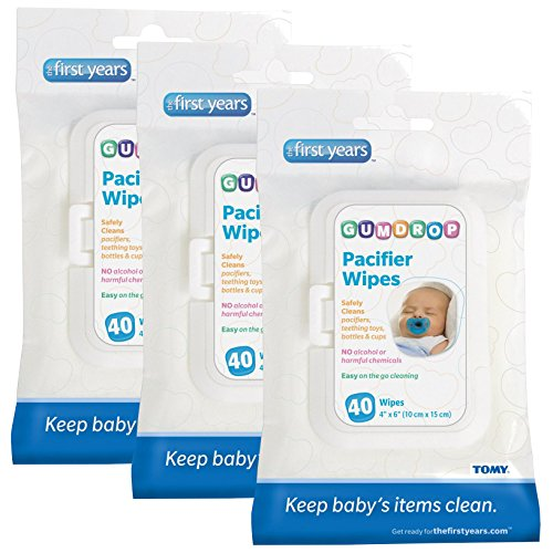 GumDrop Pacifier Wipes, 120 Count - 1