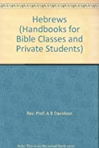 Handbooks for Bible Classes and Private…