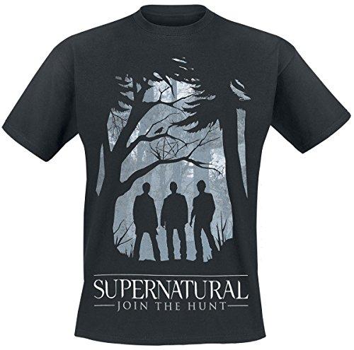 Supernatural Join The Hunt T-Shirt nero L