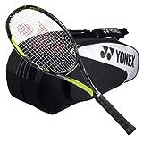 Yonex EZone Ai 98 Strung Tennis Racquet with 6 Racquet Bag by Yonex