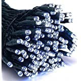 ALEKO 200 LED Solar Powered Holiday String Lights White