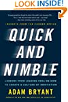 Quick and Nimble: Lessons from Leadin...