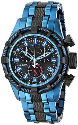 Invicta Men's 15268 Bolt Analog Display Swiss Quartz Two Tone Watch