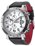 DeTomaso Rimini Dt100 - Reloj de caballero de cuarzo, correa de piel color negro