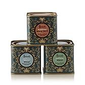ハロッズ社 アールグレー、ブレックファスト、アフターヌーン紅茶ギフトセット(各50g 缶入り)