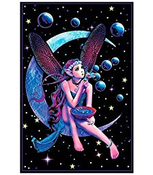 Opticz Fairy Dream Blacklight Poster by UltraViolet Distributing