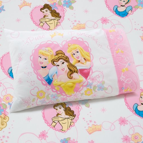 Disney Princess Castle Dreams 2-Piece Sheet Set (Toddler Bed Sheet Sets compare prices)