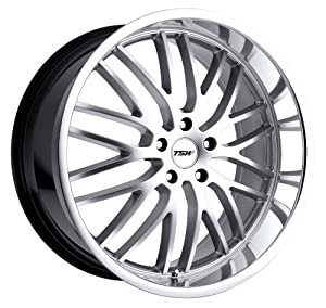 TSW Alloy Wheels Snetterton Hyper Silver Wheel (22×9″/5x120mm)