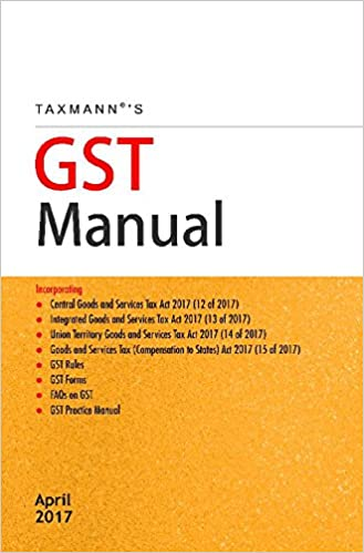 GST Manual Best Books on GST in India