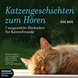 : Katzengeschichten zum Hören: 5 Hörbücher für Katzenfreunde. 7 CDs