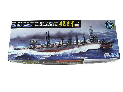 1/700 軽巡洋艦 那珂エッチング付