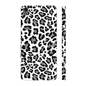 Enthopia Designer Hardshell Case A white Leopard Back Cover for Sony Xperia M4