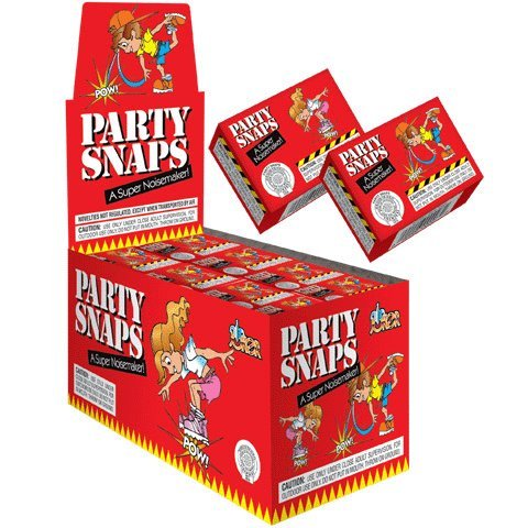 Great Deal! Genuine Loftus Party Snaps, 16 Boxes of 50, (800 snappers)