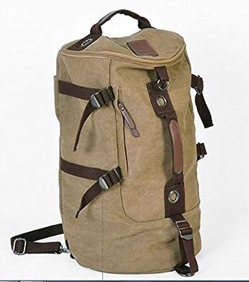 Elegant Large Capacity Men's Travel Bag / Mountain Backpack / Hiking Camping Backpack / Gym Bag / Laptop backpack / Shoulder Bag / Retro Canvas Weekend Travel Duffel Bag