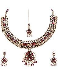 Kisan Jewellers Designer Necklace Set For Women (HSAN/35)