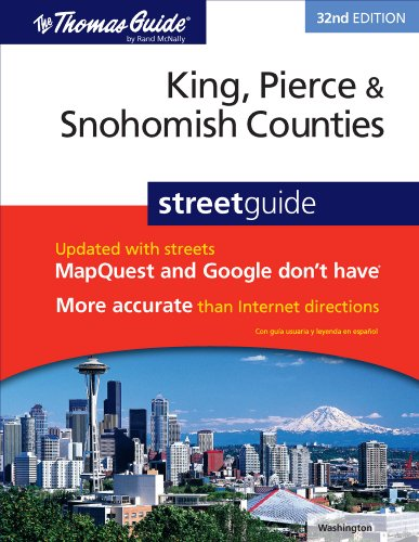 King, Pierce & Snohomish Counties Street GD (Thomas Guide King, Pierce, & Snohomish Counties Street Guide)