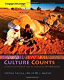 img - for Cengage Advantage Books: Culture Counts: A Concise Introduction to Cultural Anthropology by Nanda, Serena, Warms, Richard L.(January 1, 2014) Paperback book / textbook / text book