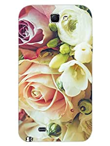 King Of Heart - Roses - Floral - Hard Back Case Cover for Samsung Note 2 - Superior Matte Finish - HD Printed Cases and Covers