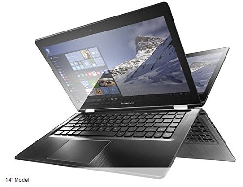 2016 New Lenovo Flex 3 14 inch Premium High Performance Convertible 2-in-1 HD Touchscreen Notebook, Intel Dual Core i5-6200U 2.3GHz, 128GB SSD, 4GB DDR3, 802.11ac, Bluetooth, HDMI, Webcam, Win 10 Pro (Lenovo Touchpad 8 compare prices)