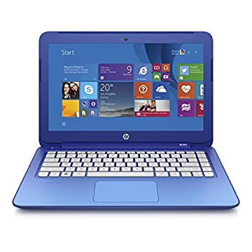 HP Stream 13 Signature Edition Laptop with Office 365 Personal for 1 Year, 32GB SSD, 2GB RAM (Horizon Blue)