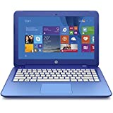 HP Stream 13.3 Inch Laptop (Intel Celeron, 2GB, 32GB SSD, Horizon Blue) Includes Office 365 Personal for One Year
