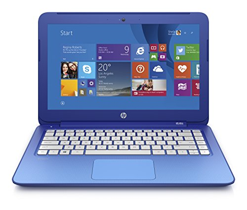 (Discontinued) HP Stream 13.3 Inch Laptop (Intel Celeron, 2 GB, 32 GB SSD, Horizon Blue) Includes Office 365 Personal for One Year (Steam 14 Laptop compare prices)