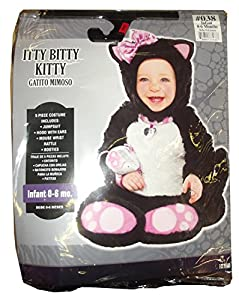 Itty Bitty Kitty Infant Halloween Costume (0-6 months)