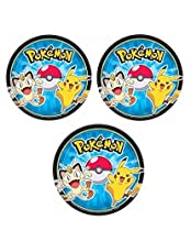Pokemon Dessert Plates for 24 Guests by Party Supplies
