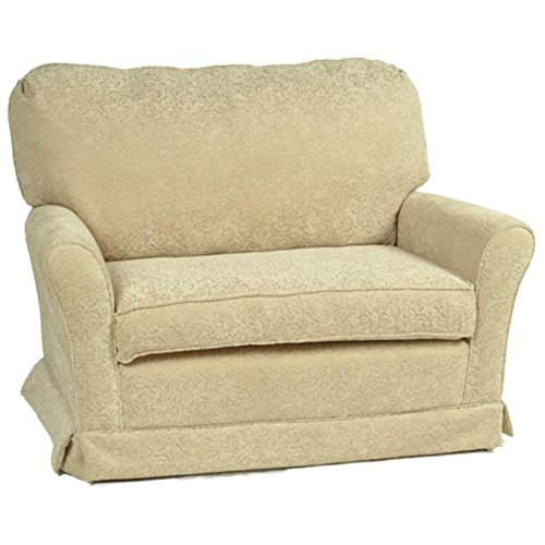 Little Castle Chair And A Half Micro Suede Beige Multicolor - 23Ch-Ms Beige front-321719