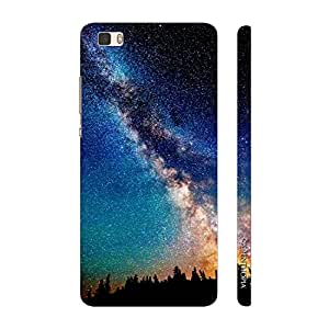 Enthopia Designer Hardshell Case Look At the Stars Back Cover for Huawei P8 Lite