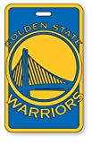 Golden State Warriors - NBA Soft Luggage Bag Tag