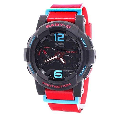 Casio Ladies Baby-G G-LIDE Analog-Digital Casual Quartz Watch (Asia Model) BGA-180-4B