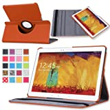 MoKo Samsung Galaxy Note 10 2014 Edition Case - 360 Degree Rotating Case For Note 10.1 Inch 2014 Edition Tablet...