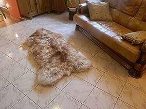 Spiced Brown Sheepskin Rug | Genuine | Thick Wool | Best Quality