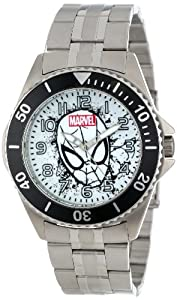 Marvel Comics Men's W001049 Honor Spider-Man Stainless Steel Bracelet Strap Watch