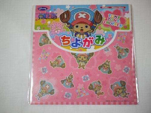 Japanese Figured Paper Chiyogami ONE PIECE TONY TONY CHOPPER Origami Japan