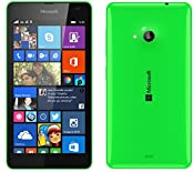 Amazon.com: Microsoft Lumia 535 Dual SIM Unlocked GSM Cell Phone Network GSM 850 / 900 / 1800 / 1900 3g Network Hsdpa 900 / 2100 (Green): Cell Phones & Accessories
