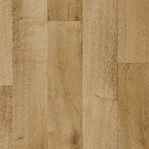 Gea Light Brown Vinyl Flooring, 2.6mm Thick, 3m Wide 3.5m Long       review and more information