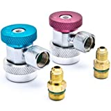 YXGOOD A/C Air Condition Quick Coupler Adapter High&Low...