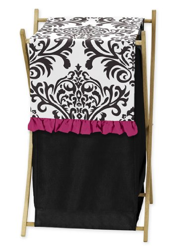 Black White And Pink Bedding 1814 front