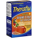 Theraflu Daytime Severe Cold & Cough, 6 Packets (Pack of 2)