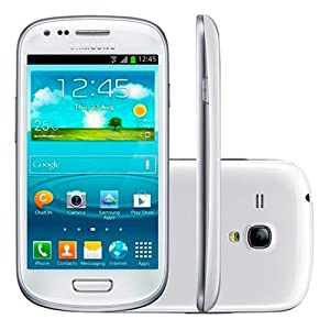 Samsung GT-I8200 Galaxy S III mini VE Android Factory Unlocked International Version- 5 MP Camera  - Retail Packaging - White
