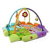 Zicac 赤ちゃんプレイマット室内 ベビージム 遊びマット 音楽 動物園