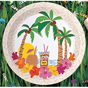 Click to buy Island Luau Dessert Plates (20/pkg)from Amazon!